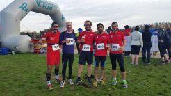 Friends at the Martinslauf 2014 finish