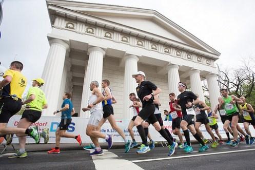 © METRO GROUP Düsseldorf Marathon press photos