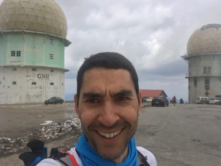With a smile at the summit (Torre)