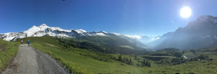 Grosse Scheidegg panorama