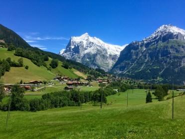Arrival back at Grindelwald