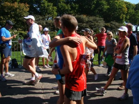 Hug A Runner