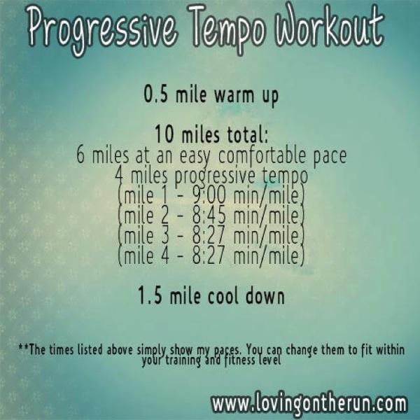 Progressive Tempo