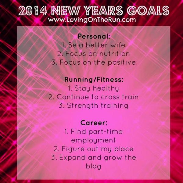 2014 New Years Goals