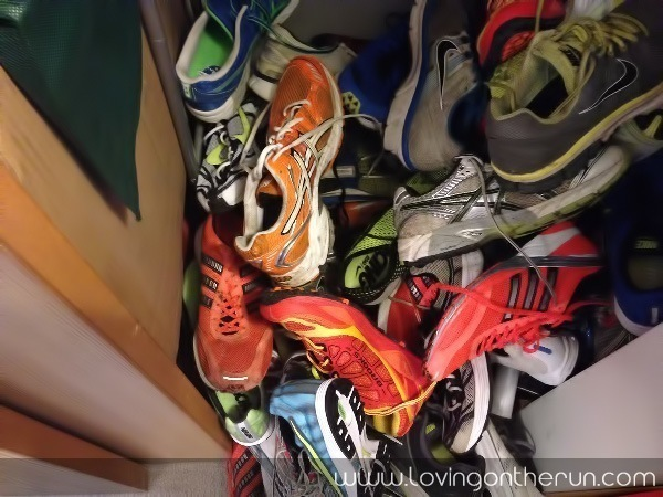 Running Shoe Addiction
