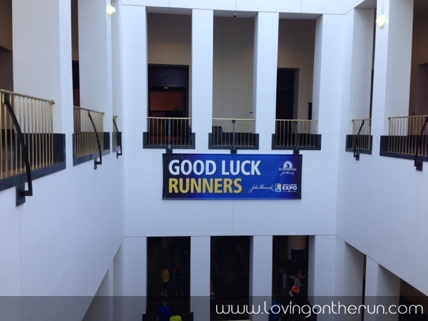 Good Luck Runners