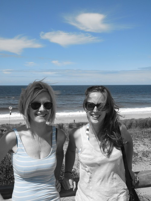 Gillian and Ellie Beach