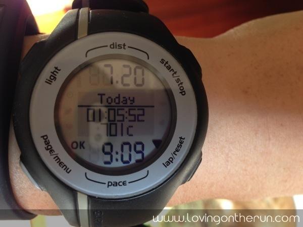 7 Mile Easy Run