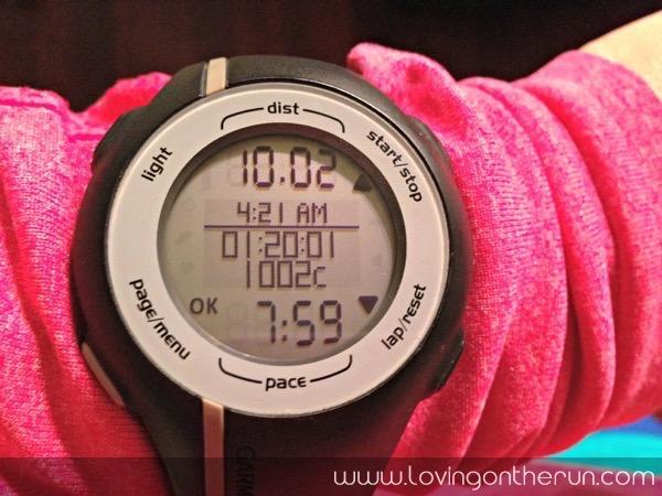 10 Mile Tempo