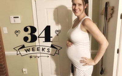 Running and Pregnancy: 34 Weeks