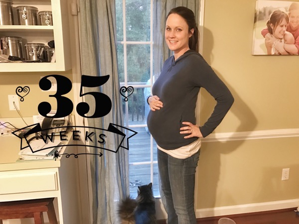 Running and Pregnancy: 35 Weeks