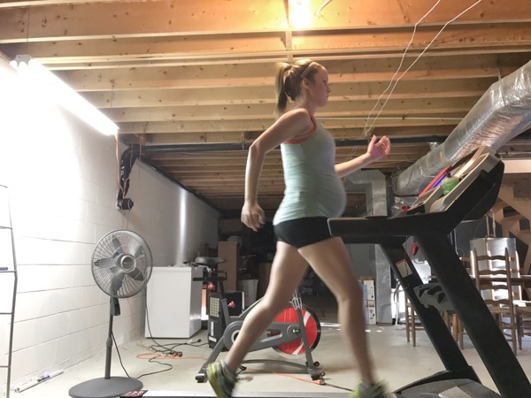 Treadmill Pregnancy Running