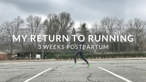 Return to Running Postpartum
