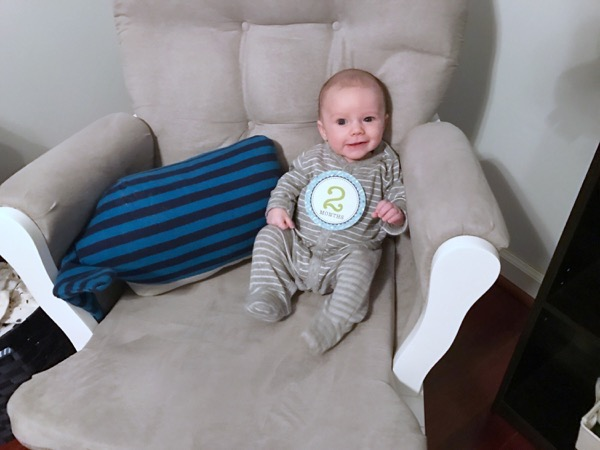 Easton: 2 Months Old