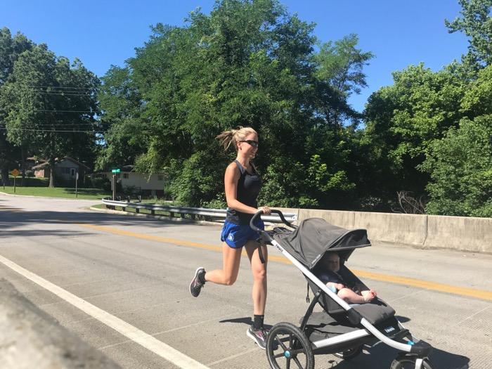 Finding Speed Postpartum {5k Training Week 4}