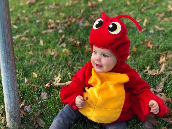Easton on Halloween
