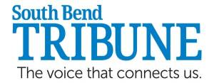 South Bend Tribune Logo for article featuring Running with Life, LLC