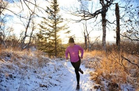 Winter Spring Trail Running