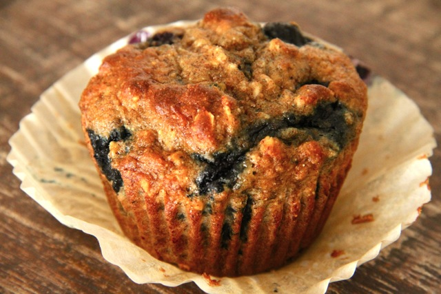 Blueberry Banana Breakfast Muffin
