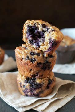 Blueberry Oat Muffin