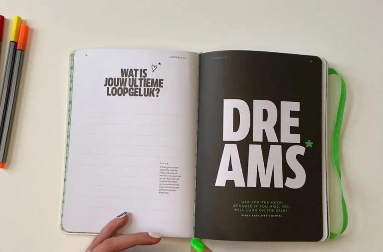 Dreams Hardloop Dagboek
