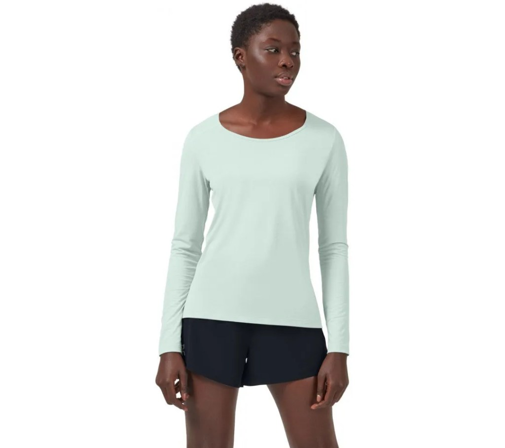 Hardloopshirt On long sleeve dames