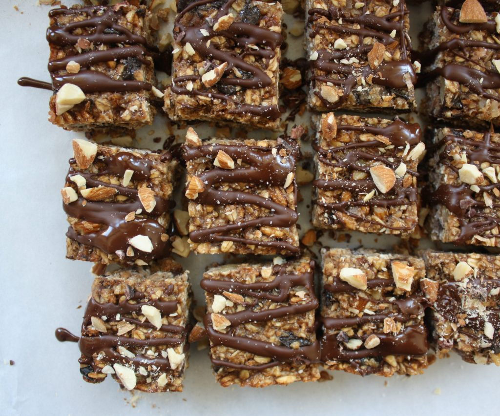 Long Ride Salted Chocolate Almond Butter Bars