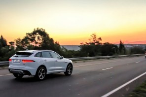 Jaguar F-Pace, it draws attention everywhere