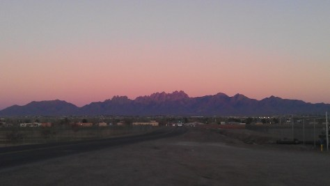 Beautiful scenery in Las Cruces