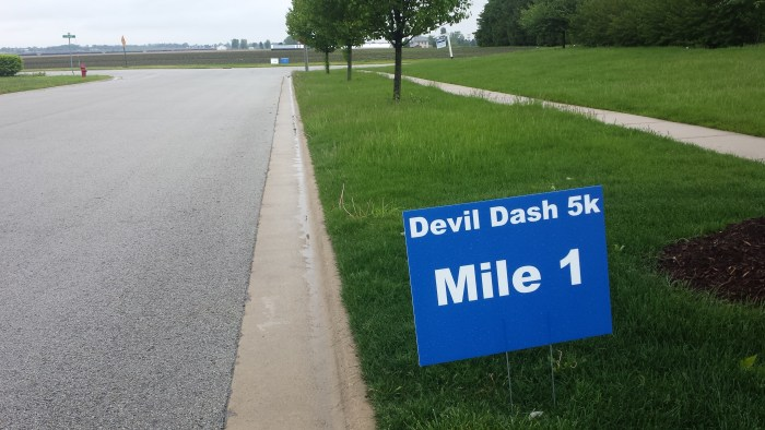Peotone Devil Dash Mile 1