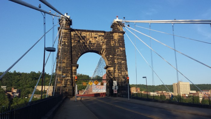 Wheeling Suspension Bridge
