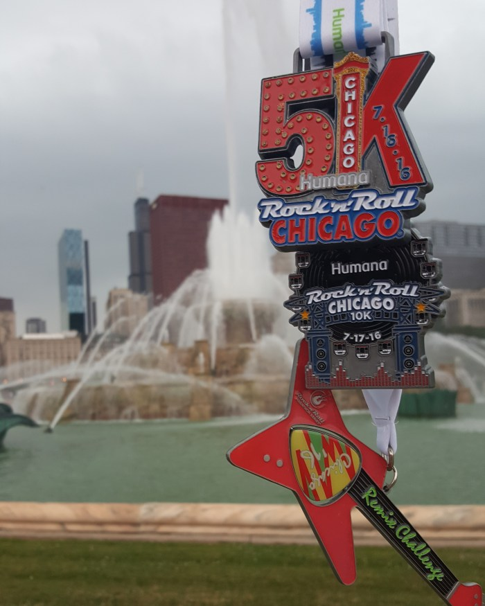 Rock n Roll Chicago 2016 Medals