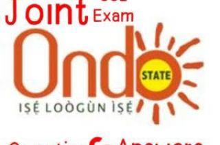 ONDO JOINT EXAM 2021 Mathematics Expo Answer