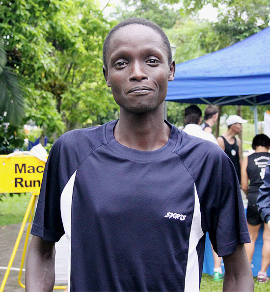 Remember this face and look out for it on the podium at the Standard Chartered Marathon Singapore