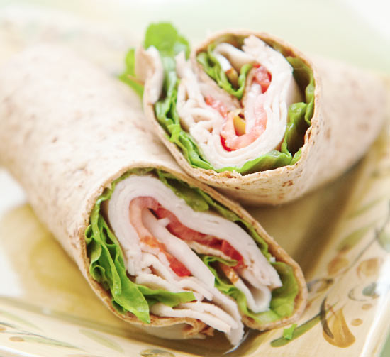 Five Great Post Work Out Foods- Lean Protein Wrap