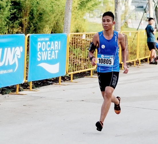 Pocari Sweat Run 2012:  Super Hydration, Super Trees, Super Run!