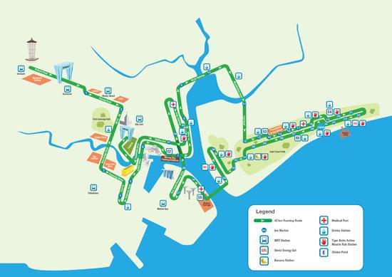 SCM'12 42km route