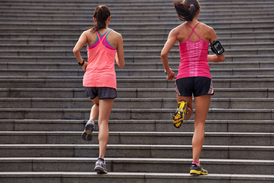 can you lose weight by going up and down stairs