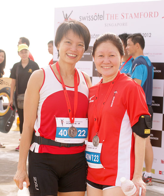 Stair Racers Sky-Rocketed 1,336 Steps At Swissôtel Vertical Marathon's 25th Anniversary