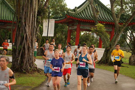 Signature Event In The West, Jurong Lake Run 2013 Includes 850m Kids Dash