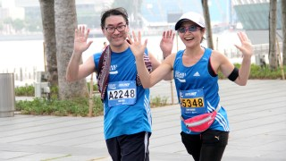 The Sea of Blue at the Pocari Sweat Run 2013