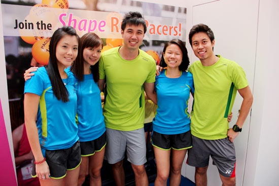 Ming Bridges Motivates Runners at Shape Run Carnival 2013