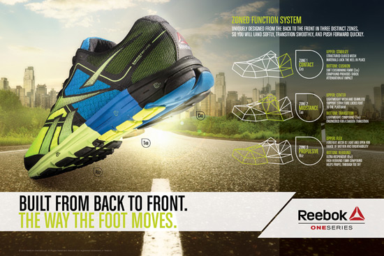 The Reebok One Series - Running Functional
