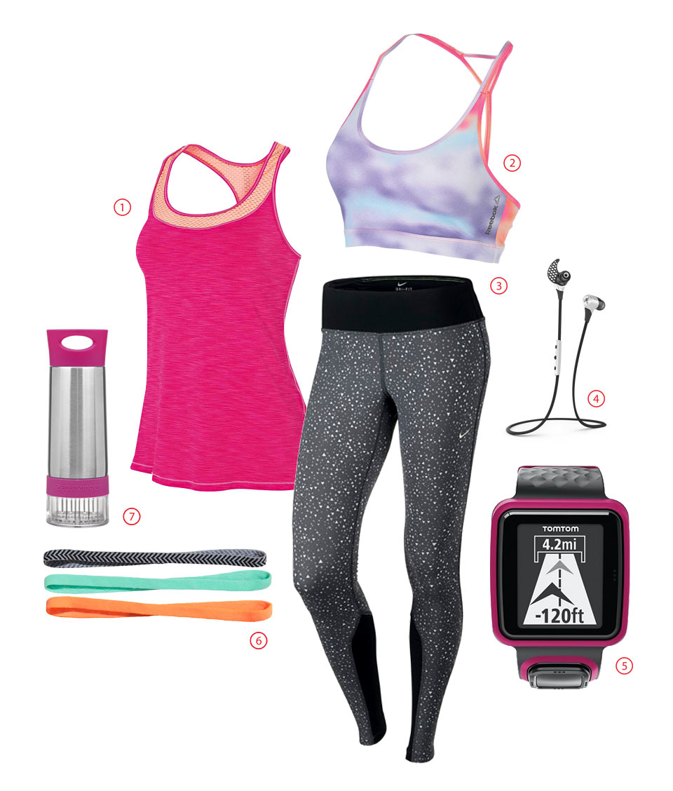 Outfit Of The Week: Go For A Gym Workout In Cheerful Pink!