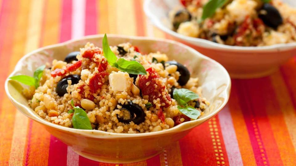 Greek Couscous Salad: Creating a Salad Superpower