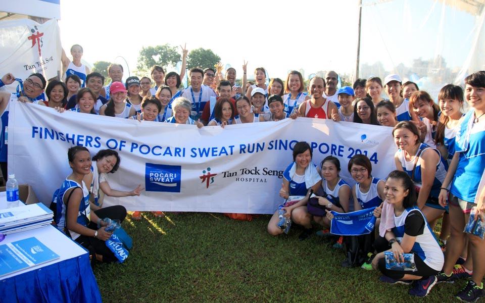 Pocari Sweat Run 2014: Smiles in Blue All Around