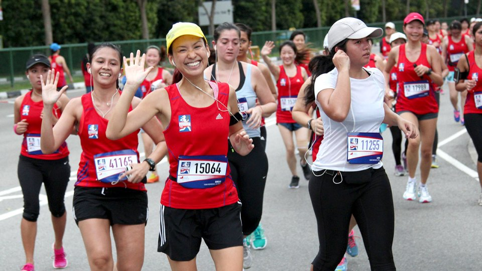 Great Eastern Women's Run 2014: Running to Live Great!