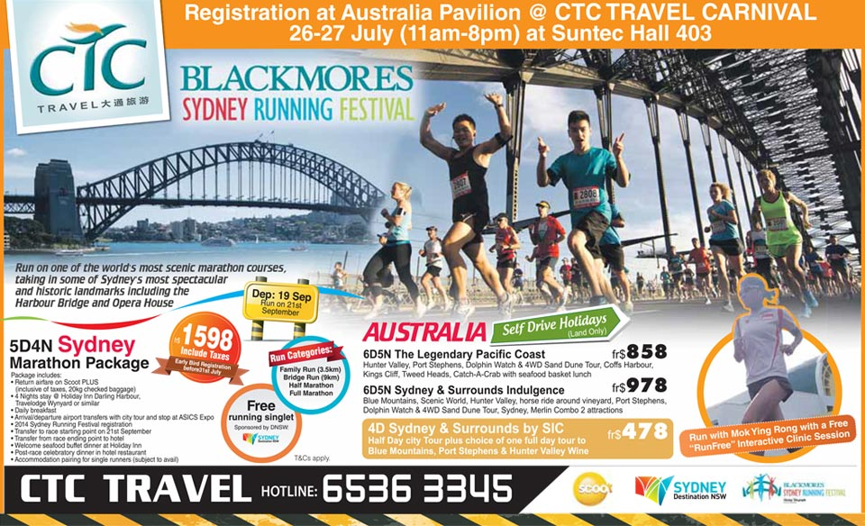 The Blackmores Sydney Running Festival 2014 Gives You a Chance to Soak in Australia's Most Scenic Sights!