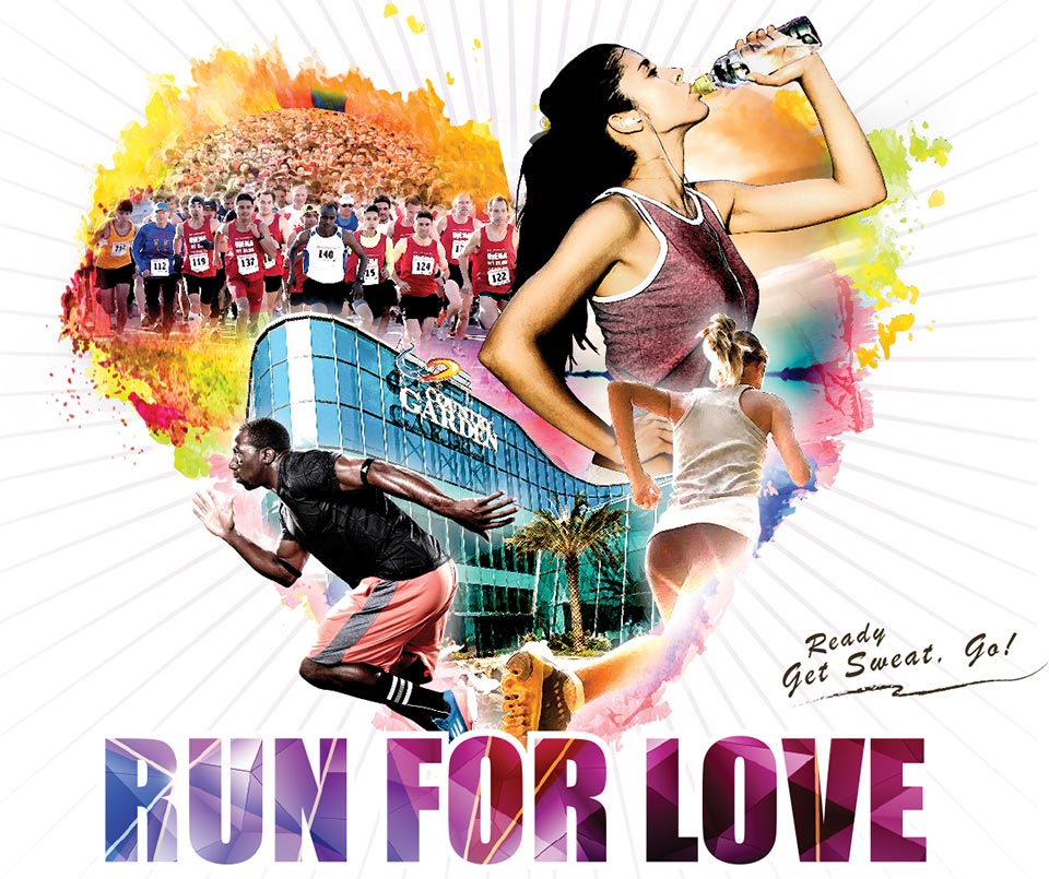 Run for Love in Malaysia will Donate RM$10 for Every Participant that Joins!