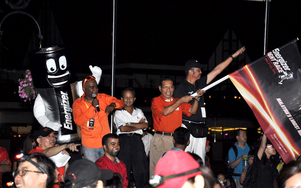 The Energizer Night Race 2014 Lit up the Streets of Kuala Lumpur with 15,000 Runners!